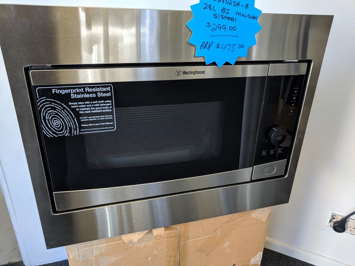 Westinghouse Wmb2802sa Built In Microwave Best Price In