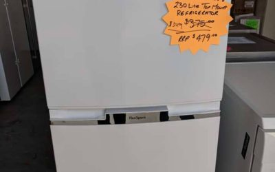 Westinghouse WTB2300WG Fridge – $349