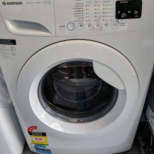 Simpson SWF14843 Front Loading Washing Machine. Doug Smith Spares Gold Coast Dec18