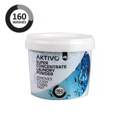 LD5KG Aktivo Washing Machine Super Concentrate Laundry Powder (5kg Tub)
