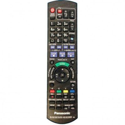 N2QAYB000757 Panasonic Blu-Ray recorder Remote Control