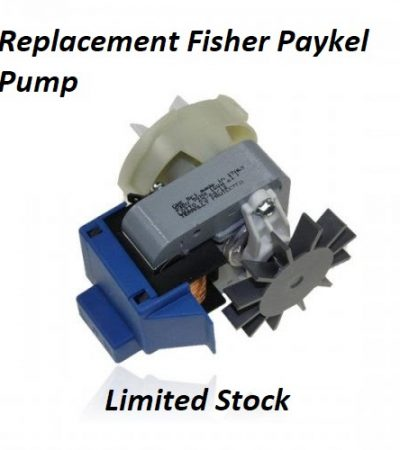 Fisher & Paykel Pumps - Replacement available.