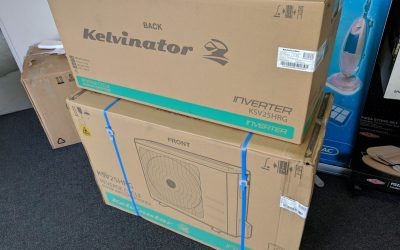 Kelvinator KSV25HRG Reverse Cycle Air Conditioner – $549