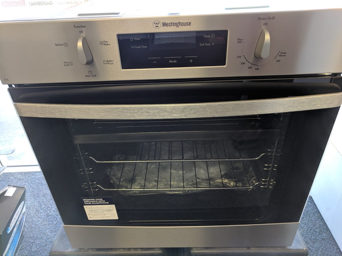 Westinghouse WVE615S Oven