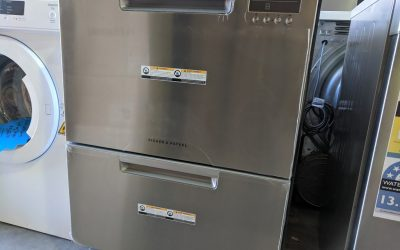 Fisher and Paykel DD60DAX9 Dishdrawer Dishwasher – $999