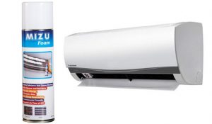MIZUFOAM - Air-Conditioning Coil Cleaner - Universal MIZU Foam is an Air-Conditioner coil cleaner. It removes mold spores, bacteria, germs and odors that have been accumulated in the AC coils. It cleans blockage causing substances that may lead to higher electricity consumption. Uses a water based formula to help cool the room in the process. The foam is safe to use around sensitive components such as cooper, plastic and rubber, and is very easy to apply for the DIY enthusiast. About Mizu Foam Mizu Foam is the fast, safe, and affordable way to clean your air conditioner for energy savings and healthy, fresh air. Cleans substances that cause blockage Kills germs and Bacteria Prevents Allergic Reactions Eliminates Odor Reduced Air-Con Energy Consumption Environmentally Friendly Expand the lifetime of your AC Rejuvenate Your AC Keep your air conditioner coils clean and save energy and money. Air conditioners work most efficiently when coils are clean. Build up of mould, dirt, and grime cause the system to work harder than it needs to and will shorten the life span of your A/C unit. • Eliminate Unpleasant Odours • Save Energy Consumption & Money • Expand the Life of Your A/C Non Acidic & Environmentally Friendly Mizu Foam has been designed especially for cleaning the coils of your A/C unit. Mizu Foam is the only non-acidic, environmentally friendly air conditioner cleaner on the Australian market! Mizu Foam will quickly and effortlessly clean your air conditioner to extend its life and efficiency. • Fast Acting • Completely Safe & Nonhazardous • Environmentally Friendly • Kill Germs & Bacteria • Affordable Cleaning your air conditioner with Mizu Foam is a fast, easy and affordable way to keep your a/c clean. If you don't usually clean your a/c or you have only tried other cleaning methods then you must try Mizu Foam and experience the benefits for yourself.