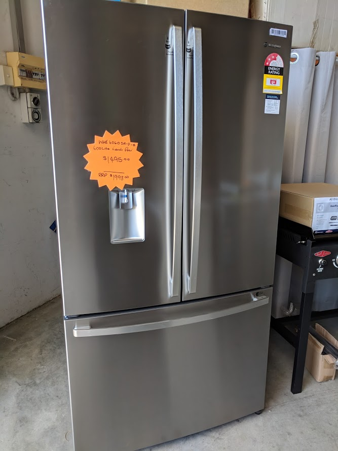 Westinghouse Whe6060sa D French Door Fridge Gold Coast Best Price