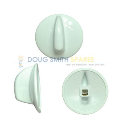 0019007836 Westinghouse Cooktop White Control Knob