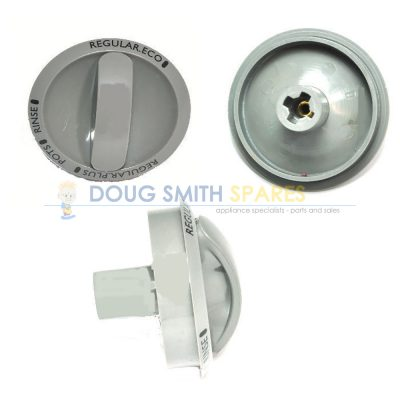 0019477084 Simpson Dishwasher Grey Timer Control Knob & Skirt