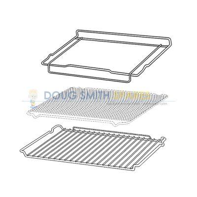 0327001362 Electrolux Oven Shelf Rack Pack
