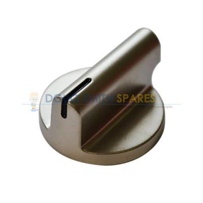 11741801 Omega Oven Silver Control Knob