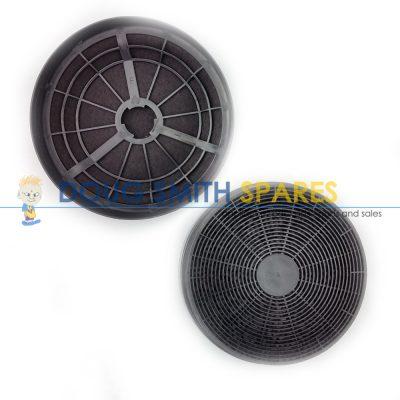 2306011.005 Ariston Rangehood Circular Charcoal Filters (2-Pack)