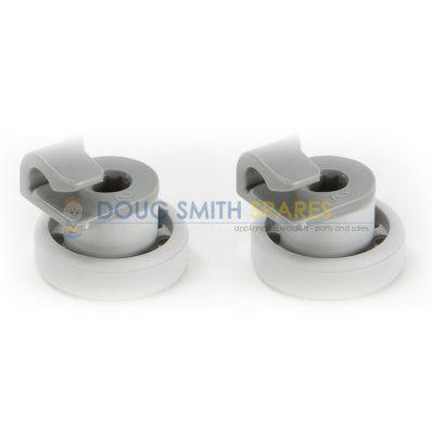 424717 Bosch Dishwasher Upper Basket Roller Wheels (2-Pack)