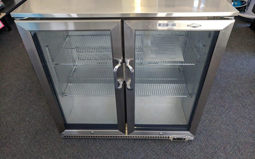 *** Sold *** Beefeater BS28200 Alresco Fridge – 2 door. $998