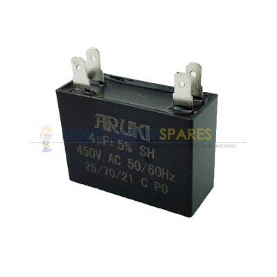 CAP004SQ Universal Square 4uF Run Capacitor
