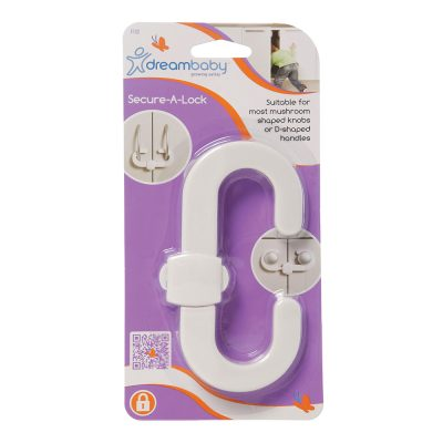 F132 Dreambaby Safety Secure-A-Lock