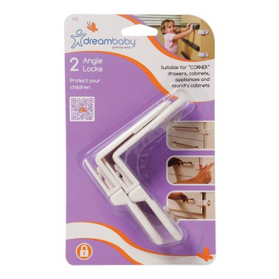 F133 Dreambaby Safety Angle Lock (2-Pack)
