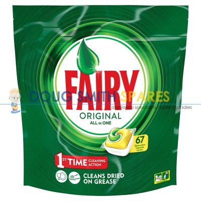 FAIRYTAB-L67 Fairy Fairy Auto Dish Tab AllInOne Lemon (67-Pack)