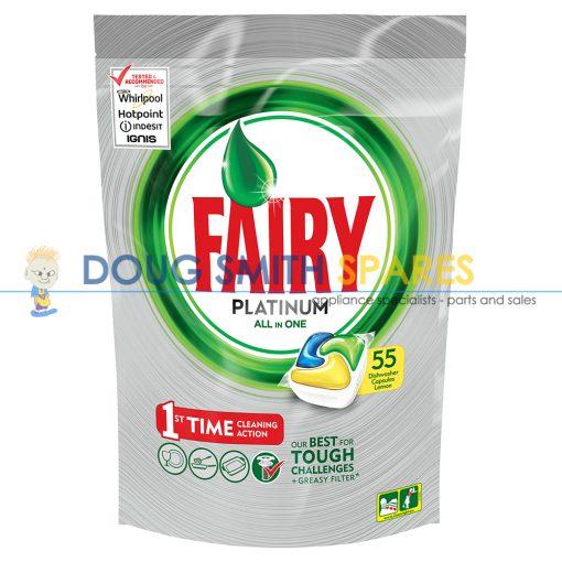 FAIRYTAB-PL55 Fairy Fairy Auto Dish Tab Platinum Lemon (55-Pack)