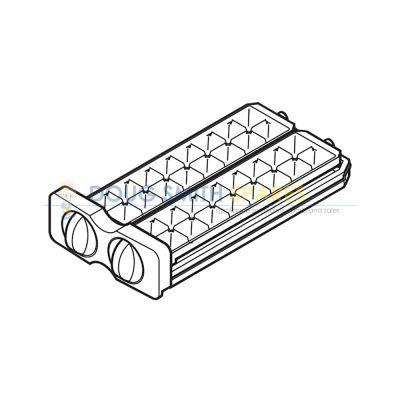 FSRA-A244CBYZ Electrolux Fridge Ice Cube Maker Double Twist Tray