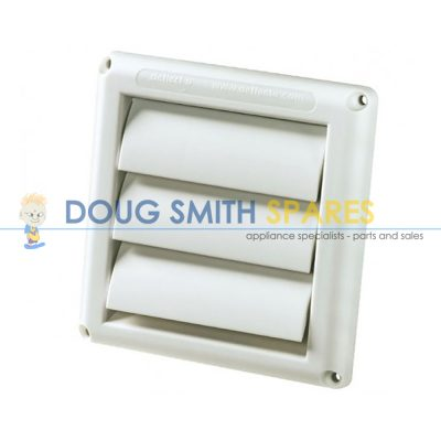 HSR5W Universal Air-Con Gravity Louvred Vent (125mm)