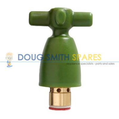 W505 X-Valve Full Flow Wall Spindle Garden Tap