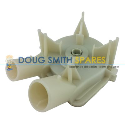 3363394 Whirlpool Washing Machine Automatic Drain Pump (One Small One Large Port)