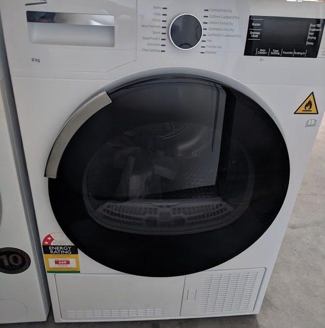 Beko BDC830W Condenser Dryer $498 Gold Coast