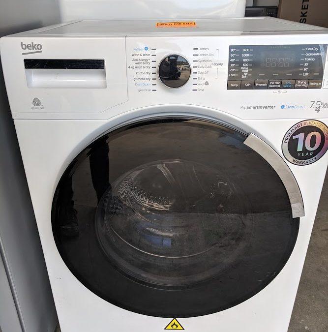 *** Sold *** Beko BWD7541IG Washer Dryer $568 Gold Coast