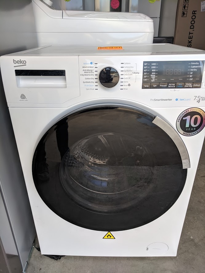 Beko BDW7541IG Washer Dryer. Doug Smith Spares Gold Coast Nov 18