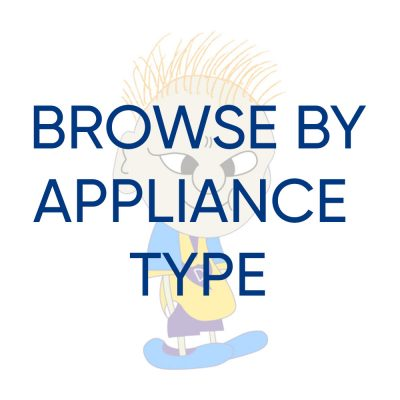Browse your appliance type