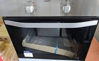 *** Sold *** Chef CVE612SA Wall Oven – $399 Gold Coast