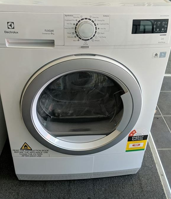 *** Sold *** Electrolux EDC2086GDW Condenser Dryer. $658 Pymble