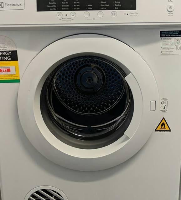 Electrolux EDV6552 Clothes Dryer. Doug Smith Spares Pymble Dec18