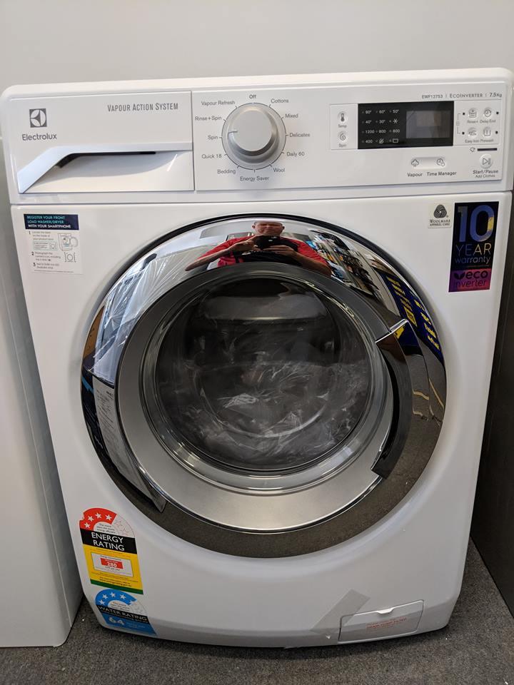 Electrolux EWF12753A front loading washing machine Doug SMith Spares Pymble Nov 18