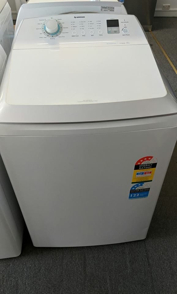 Simpson SWT1043 Washing Machine. Doug Smith Spares Pymble Nov 18