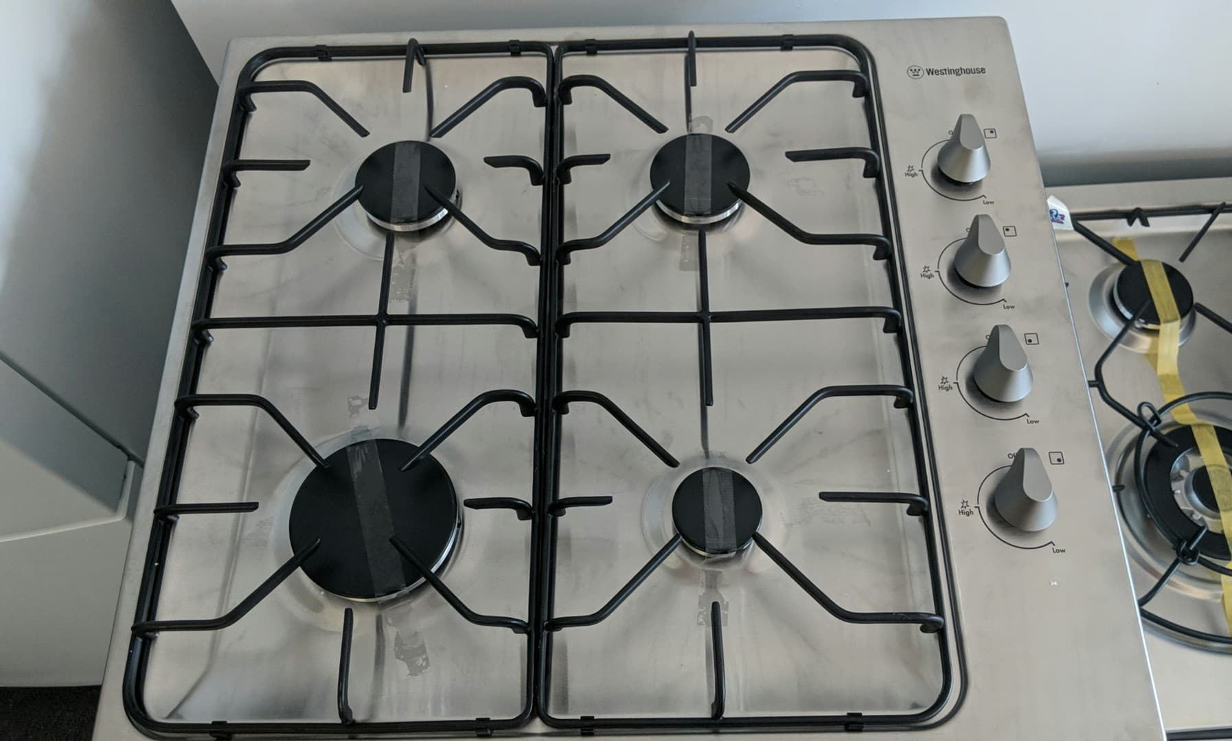 Westinghouse WHG640SB Gas Cooktop. Doug Smith Spares Pymble Nov 18