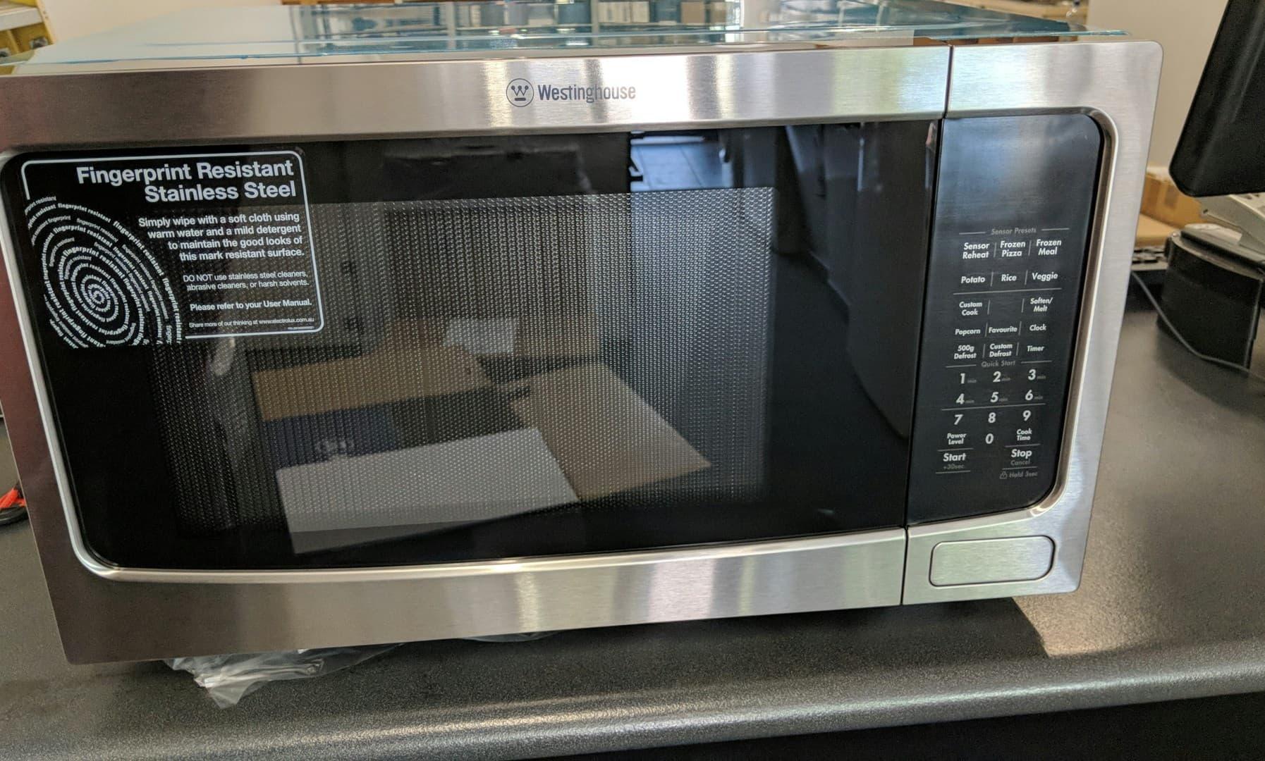 Westinghouse WMF4102SA Microwave oven. Doug Smith Spares Pymble Nov 18