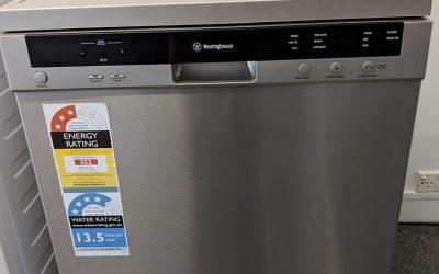 Westinghouse WSF6606X Dishwasher. $598 Pymble