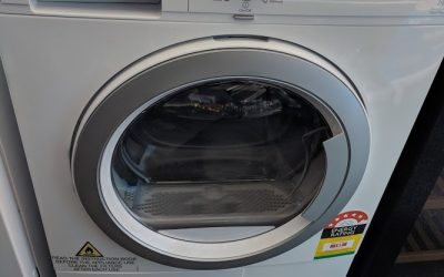 Electrolux EDH3586GDW Heat Pump Condenser Dryer. $948 Gold Coast