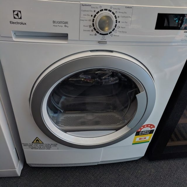 Electrolux EDH3586GDW Heat Pump Condenser Dryer. Doug Smith Spares Gold Coast Dec18