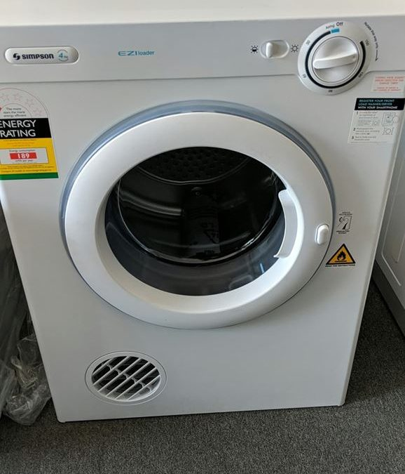 Simpson SDV401 Clothes Dryer. $248 Pymble