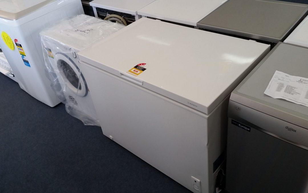 Westinghouse WCM2900WD Chest Freezer – $448. Granville