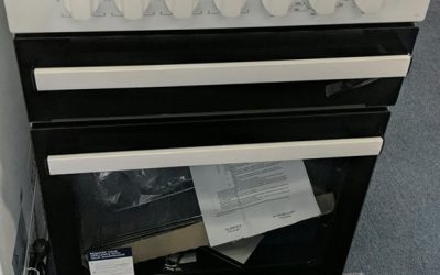 Chef CFE533WB Upright Stove – $578 Granville