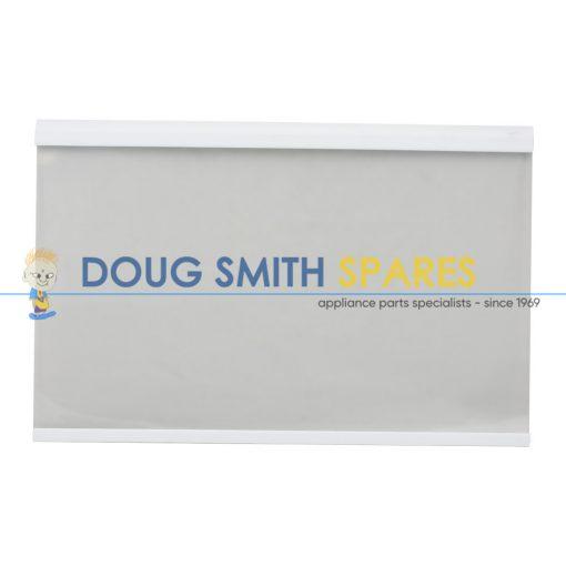 813986 Fisher Paykel Fridge White Trim Glass Shelf (440 x 285mm)