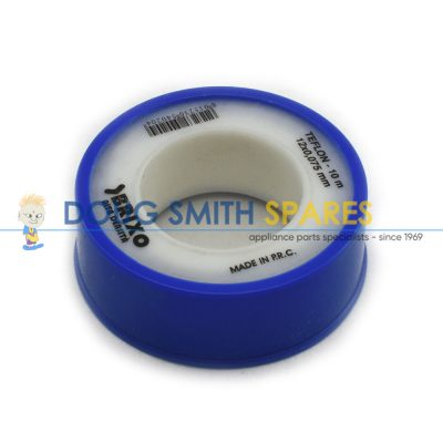 T022P Universal Teflon Tape (12mm x 10m)