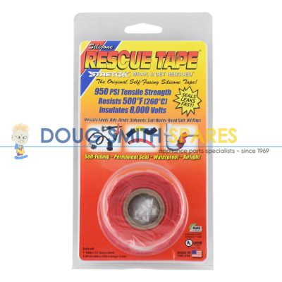 T031R Universal Red Rescue Tape (1 Inch)