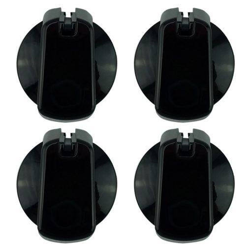 UK-48B4 Universal Cooktop Black 48mm Knob Kit