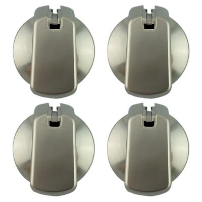 Wilson Universal Cooktop Appliance Silver Knobs Kit