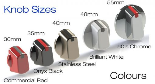 Wilson Universal Cooktop Appliance Knobs All Colours Examples
